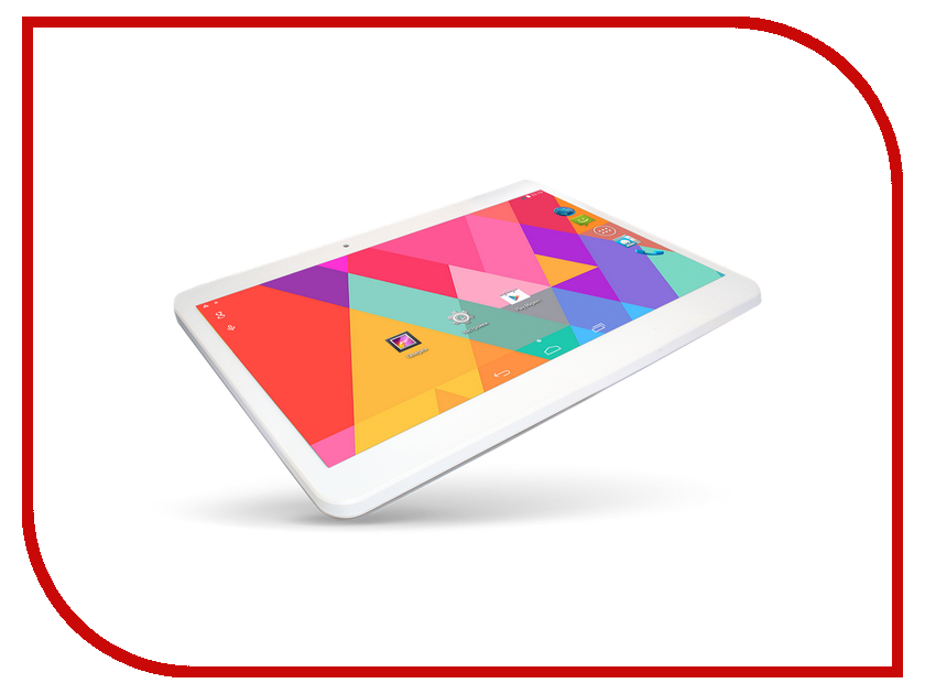 Планшет Ginzzu GT-X831 Quad 3G White Intel Atom x3-C3230RK 1.0 GHz/1024Mb/8Gb/3G/Wi-Fi/Bluetooth/Cam/10.1/1024x600/Android