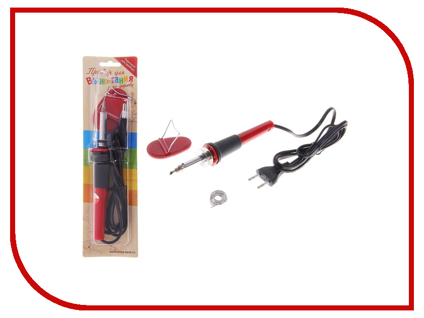 Аппарат для выжигания Лесная мастерская 133964 аппарат для выжигания sparta 913225