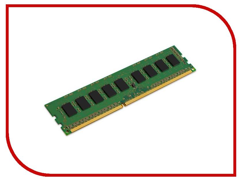 Модуль памяти Kingston DDR3L DIMM 1600MHz PC3-12800 ECC CL11 SRx8 1.35V w/TS Intel - 4Gb KVR16LE11S8/4I