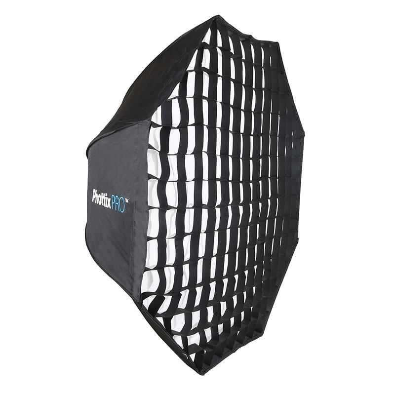 Софтбокс Phottix -up Extra Large 120cm Octa Umbrella HD с решеткой 82486<br>