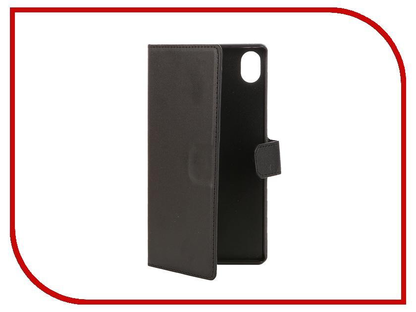 Аксессуар Чехол-книжка Sony Xperia Z3+ Muvit MFX Wallet Folio Case Black SEWAL0013<br>