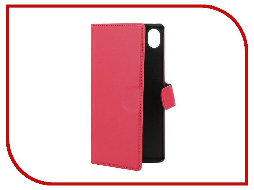 ��������� �����-������ Sony Xperia Z3+ Muvit MFX Wallet Folio Case Pink SEWAL0015