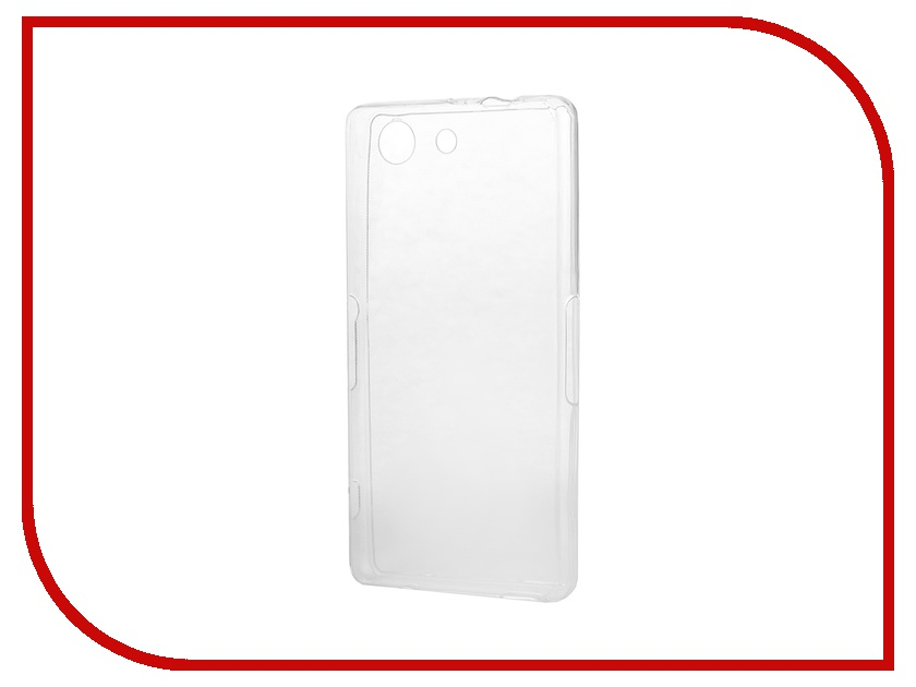 все цены на  Аксессуар Чехол-накладка Sony Xperia Z3 Compact BROSCO силиконовый Transparent Z3C-BACK-01-TRANSPARENT  онлайн