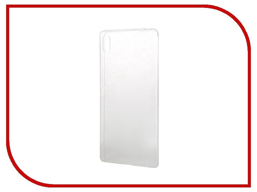 Аксессуар Чехол-накладка Sony Xperia Z3+ BROSCO силиконовый Transparent Z3PLUS-TPU-TRANSPARENT<br>
