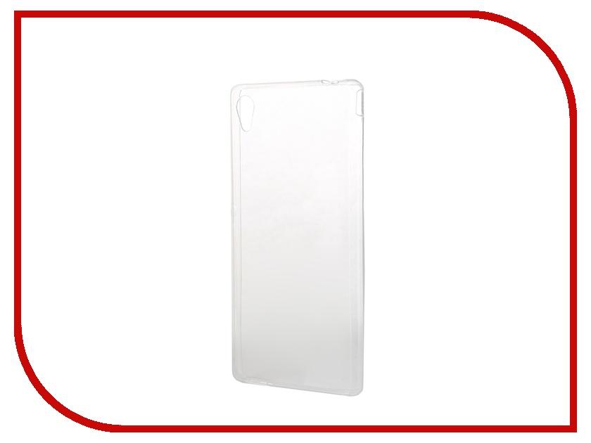 Аксессуар Чехол-накладка Sony Xperia M4 Aqua BROSCO силиконовый Transparent M4A-BACK-01-TRANSPARENT<br>