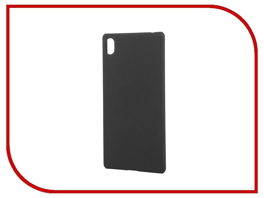Аксессуар Чехол-накладка Sony Xperia Z3+ BROSCO пластиковый Black Z3PLUS-SOFTTOUCH-BLACK аксессуар чехол htc u ultra brosco black htc uu book black