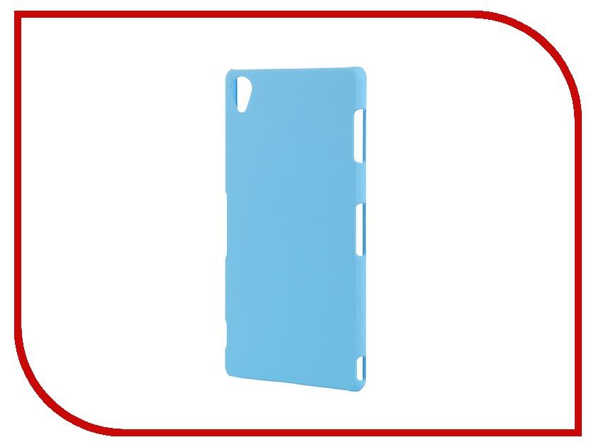 Аксессуар Чехол-накладка Sony Xperia Z3 BROSCO пластиковый Blue Z3-BACK-03-BLUE<br>