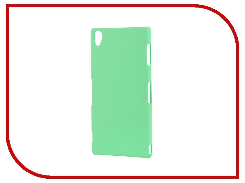 Аксессуар Чехол-накладка Sony Xperia Z3 BROSCO пластиковый Green Z3-BACK-03-GREEN<br>