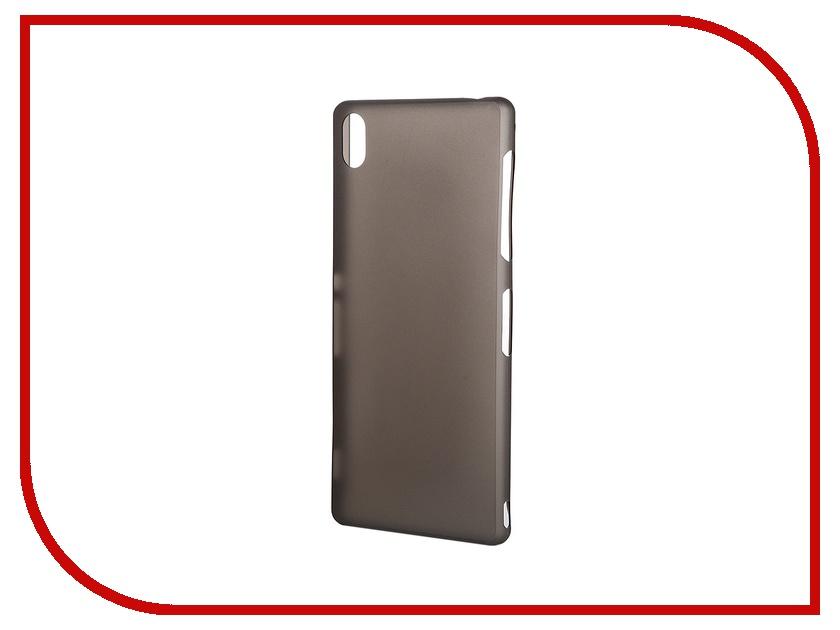 Аксессуар Чехол-накладка Sony Xperia Z3 BROSCO Super Slim пластиковый Black Z3-BACK-04-BLACK<br>