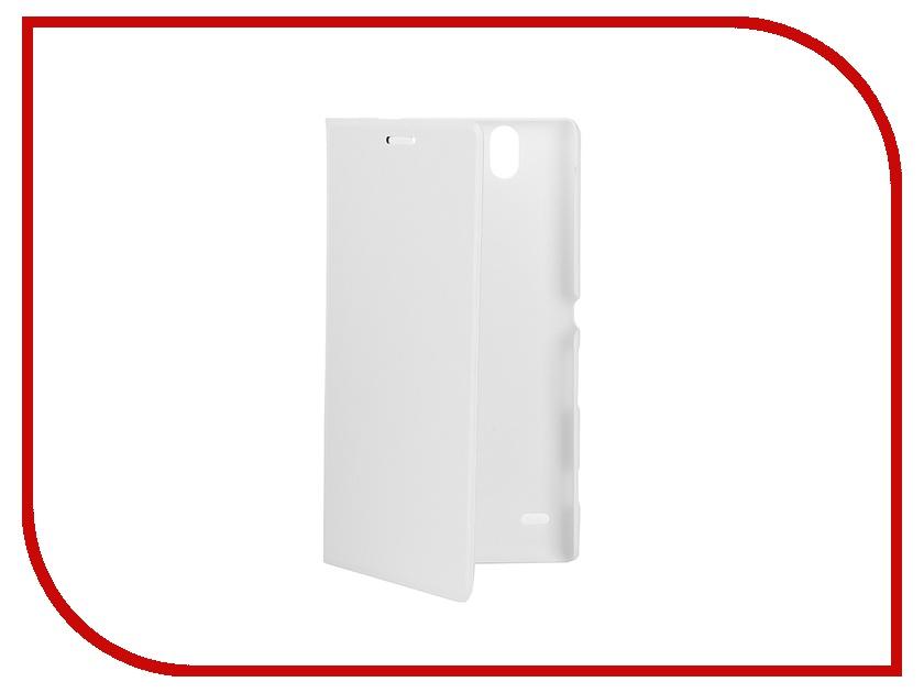 Аксессуар Чехол-книжка Sony Xperia C4 BROSCO PU White C4-BOOK-WHITE<br>