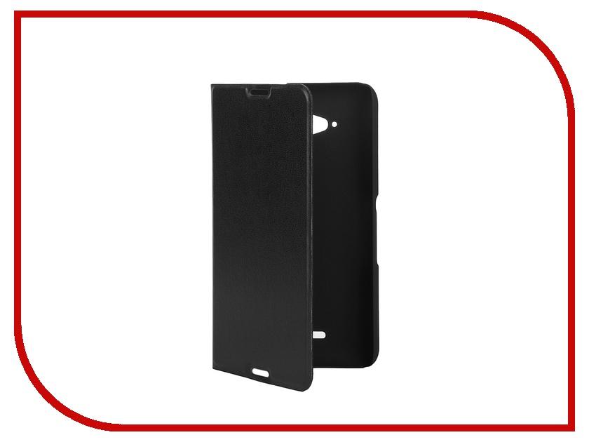 ��������� �����-������ Sony Xperia E4G BROSCO PU Black E4G-BOOK-BLACK