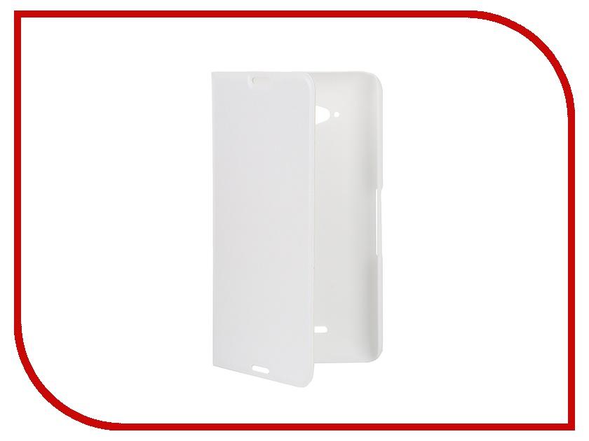 ��������� �����-������ Sony Xperia E4G BROSCO PU White E4G-BOOK-WHITE