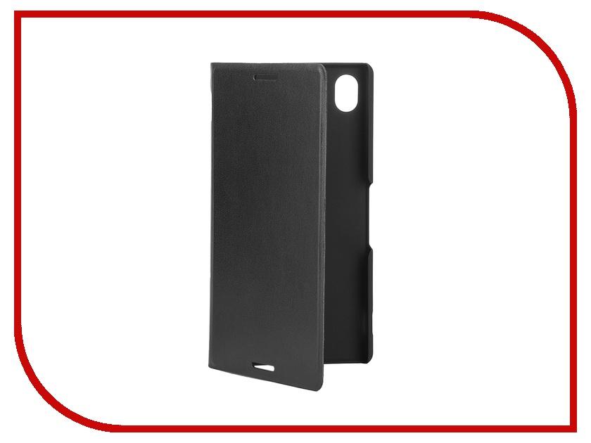 ��������� �����-������ Sony Xperia M4 Aqua BROSCO PU Black M4A-BOOK-BLACK
