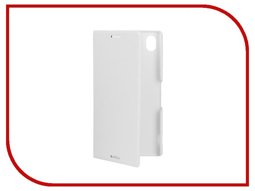 Аксессуар Чехол-книжка Sony Xperia M4 Aqua BROSCO PU White M4A-BOOK-WHITE<br>