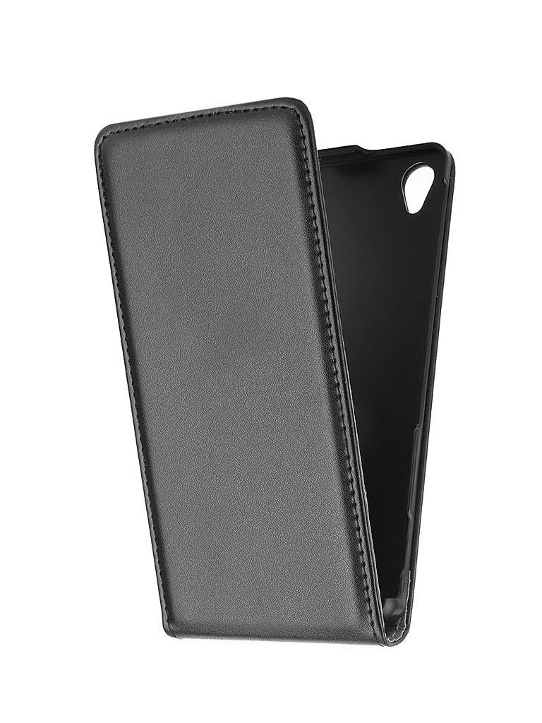 Аксессуар Чехол-флип Sony Xperia Z3 BROSCO Black Z3-FLIP-01-BLACK