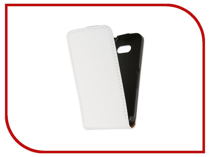 Аксессуар Чехол-флип Sony Xperia E4G BROSCO White E4G-FLIP-01-WHITE<br>