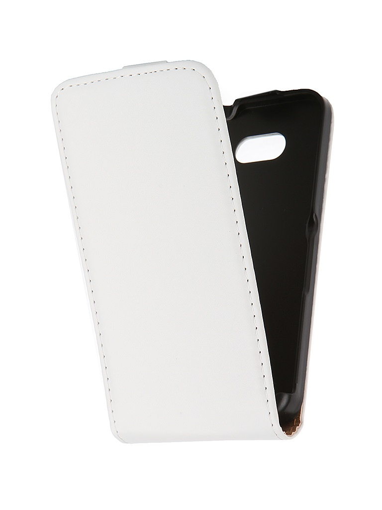 Аксессуар Чехол-флип Sony Xperia E4G BROSCO White E4G-FLIP-01-WHITE