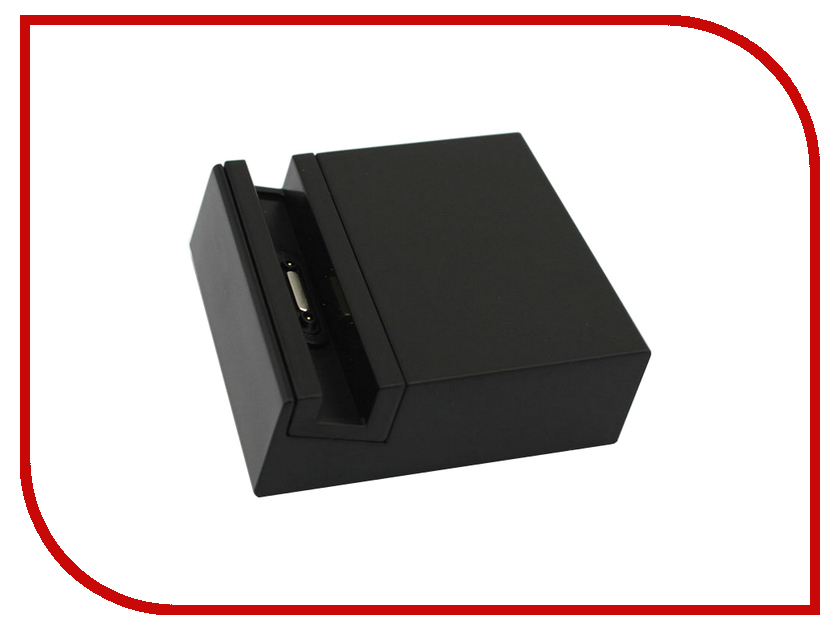 Аксессуар BROSCO док-станция для Sony Xperia Z3 / Z3 Compact DOCK STATION-BLACK