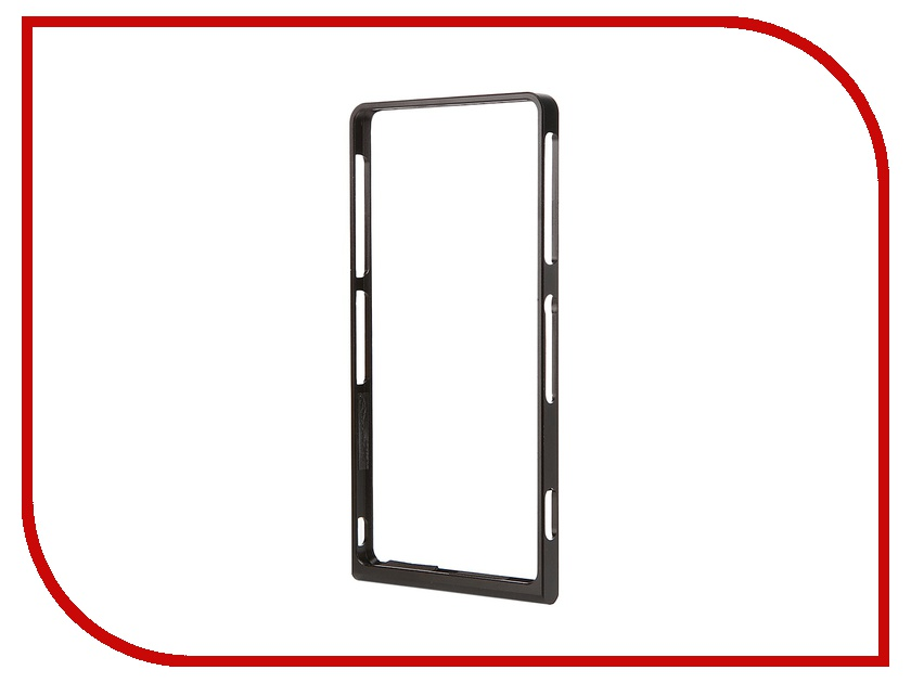 Аксессуар Чехол-бампер Sony Xperia Z3 BROSCO Black Z3-BUMPER-02-BLACK