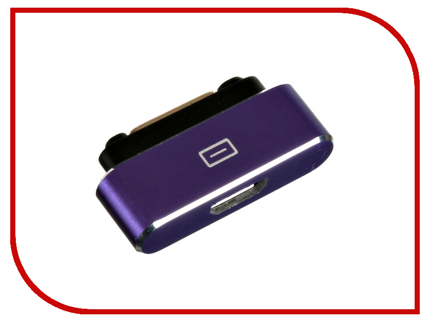 ��������� BROSCO Magnetic Charging Adapter MAGNET-ADAPTER-PURPLE - ������� for Sony Xperia Z1 / Z2 / Z3 Purple