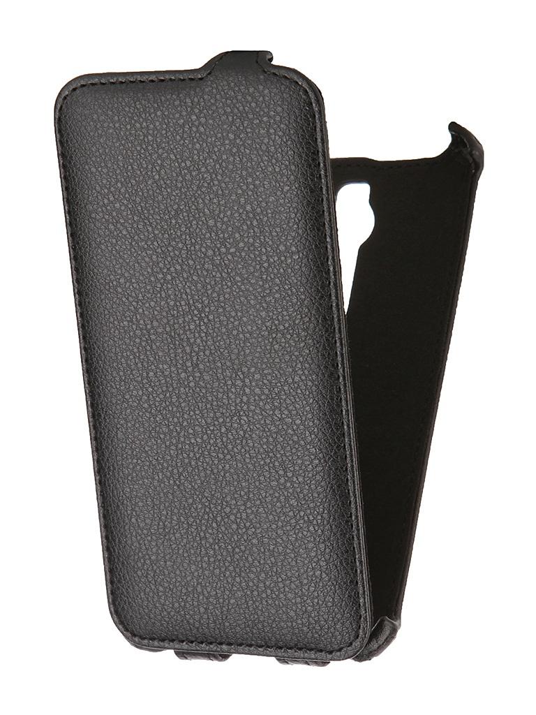 Аксессуар Чехол-флип ASUS ZenFone 2 ZE551ML SkinBox Black T-FC-AZ2