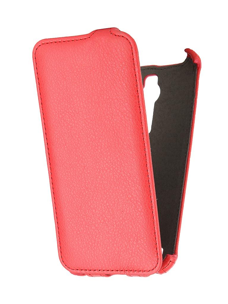 Аксессуар Чехол-флип ASUS ZenFone 2 ZE551ML SkinBox Red T-FC-AZ2