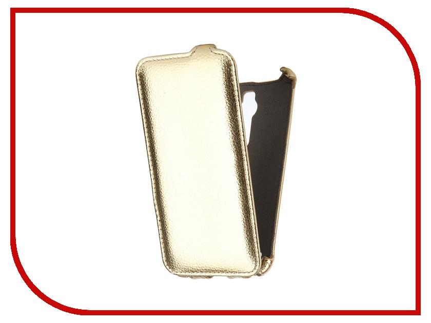 Аксессуар Чехол-флип ASUS ZenFone 2 ZE551ML SkinBox Gold T-FC-AZ2