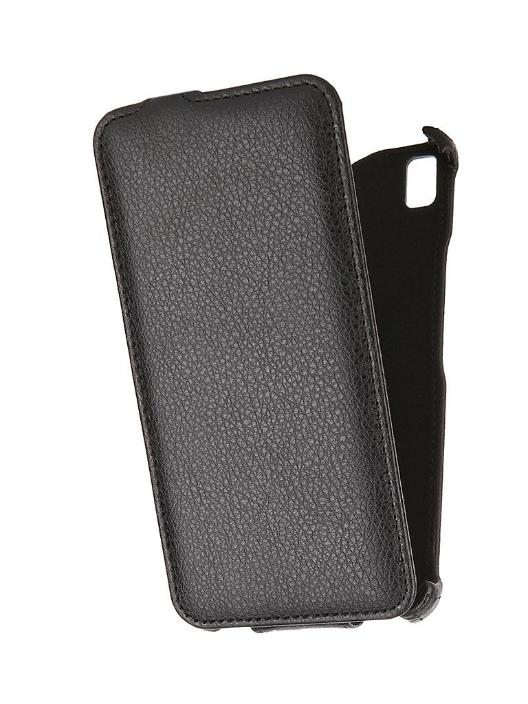 Аксессуар Чехол-флип Lenovo A7000 SkinBox Black T-FC-LA7000