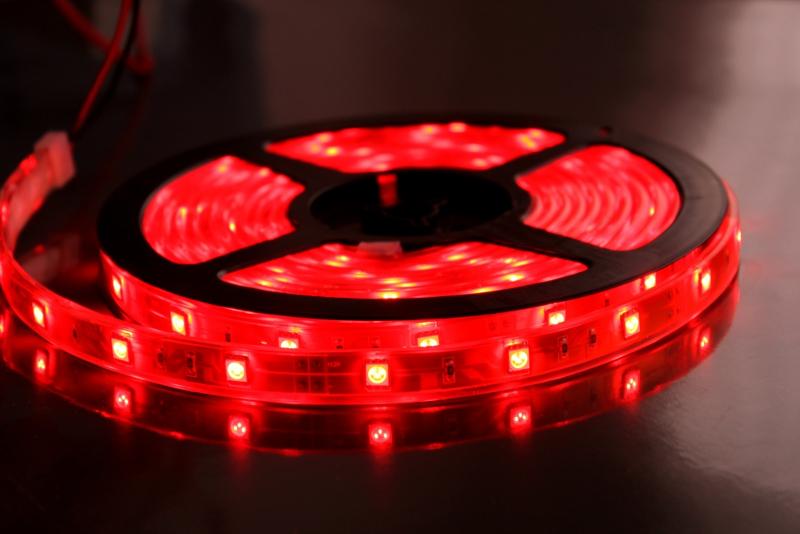 Светодиодная лента ASD LS 35R-60/33 60LED 4.8W/m 12В 5m IP33 Red 4690612002385<br>