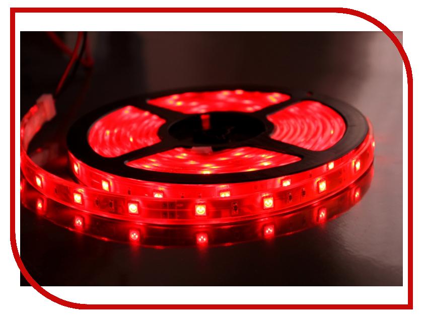 Светодиодная лента ASD LS 50R-30/65 30LED 7.2W/m 12В 5m IP65 Red 4690612000619