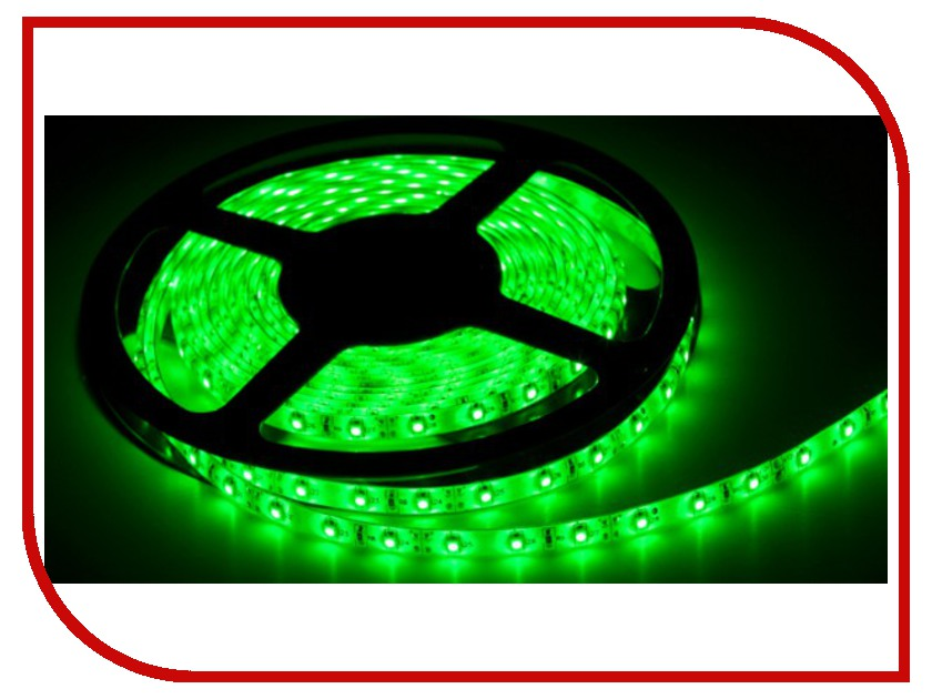 Светодиодная лента ASD LS 50G-30/65 30LED 7.2W/m 12В 5m IP65 Green 4690612000626 asd ls 35w 30 33 30led 2 4w m 12 5m ip33 white 4680005958849