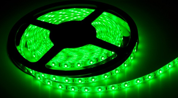 ������������ ����� ASD LS 50G-30/65 30LED 7.2W/m 12� 5m IP65 Green 4690612000626<br>