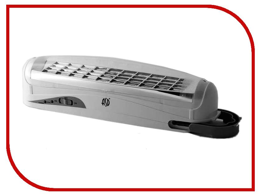 Светильник ASD СБА 1093С 90 LED LEAD ACID DC 4680005951291 светильник asd спб 2д 155 5 5w ip40 c датчиком white 4690612002538