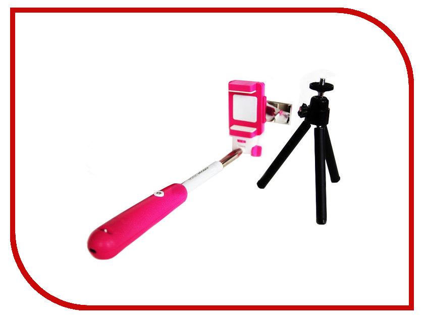 Штатив JoyRoom B230115 Pink G02AP - Монопод с треногой и зеркалом<br>