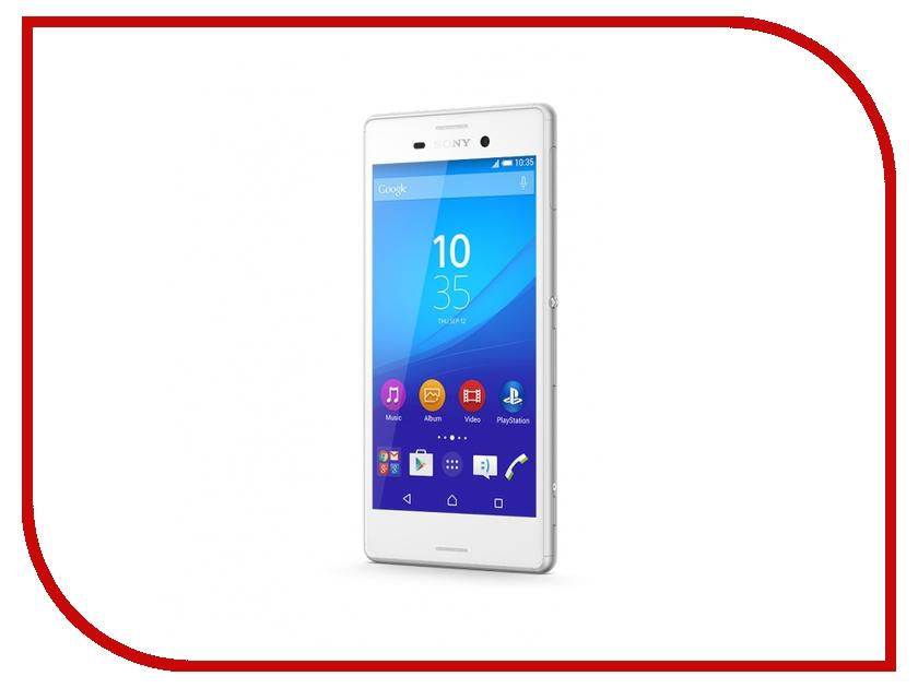 Сотовый телефон Sony E2303 Xperia M4 Aqua White<br>