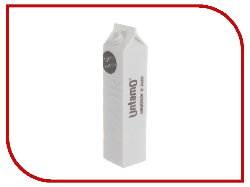 Аккумулятор Untamo Unergy MilkBox 2600 mAh White UUNMB2.6W