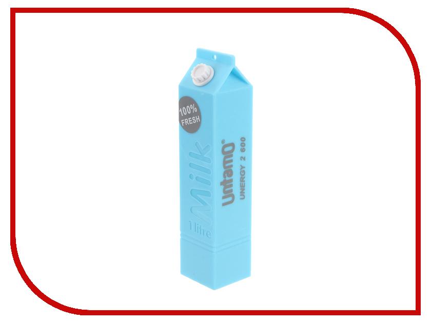 Аккумулятор Untamo Unergy MilkBox 2600 mAh Blue UUNMB2.6BLU<br>