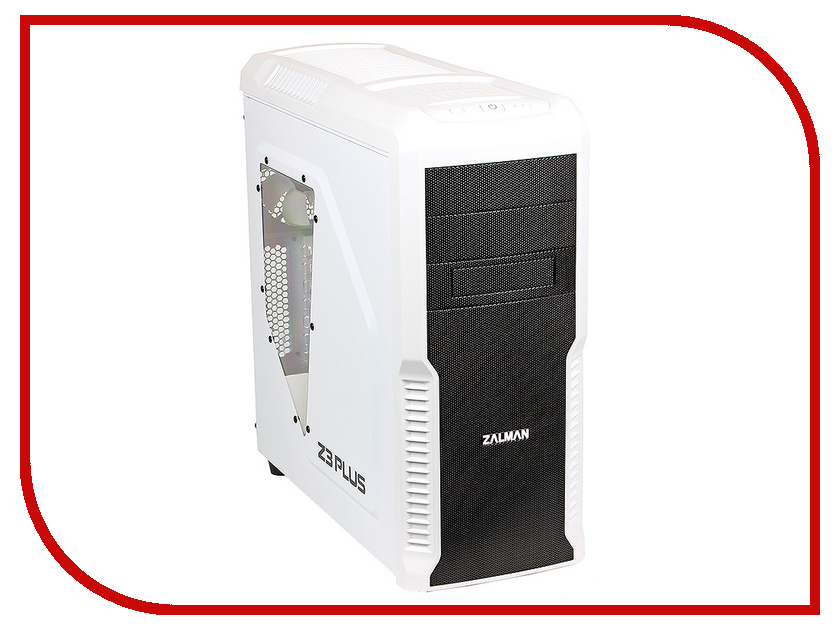 все цены на Корпус Zalman Miditower Z3 Plus White