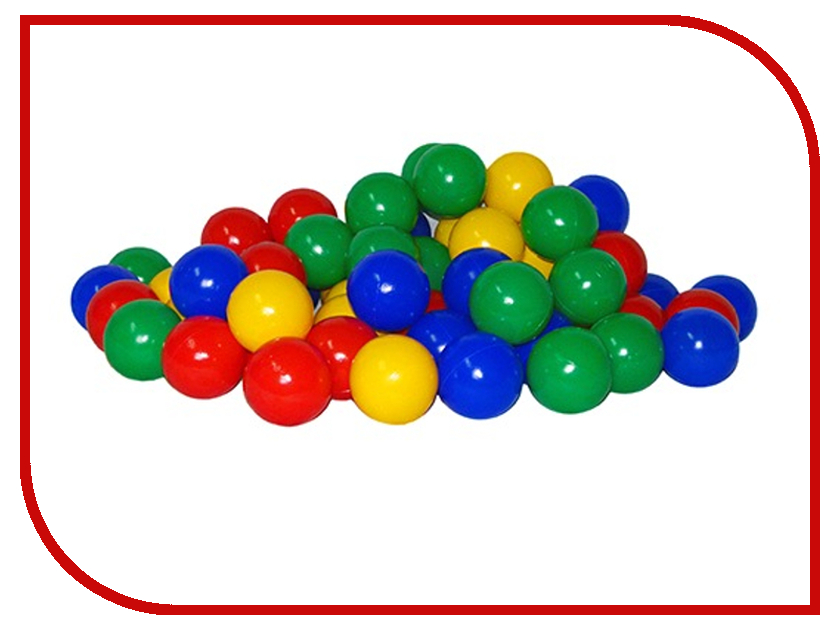 Игровой центр Юг-Пласт Набор шариков 200шт 5см 2019