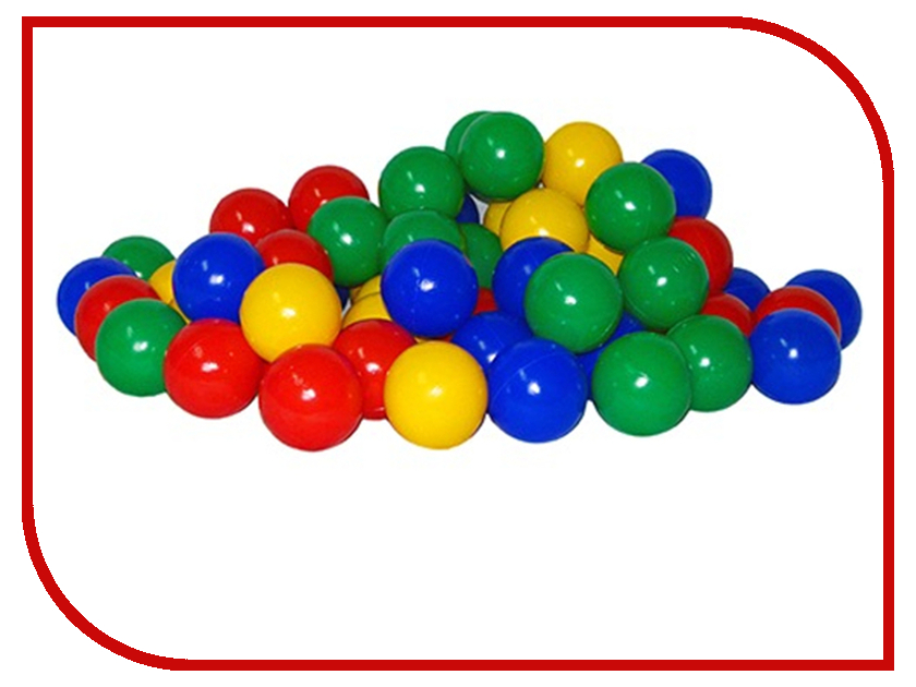 Игровой центр Юг-Пласт Набор шариков 200шт 8см 2016<br>