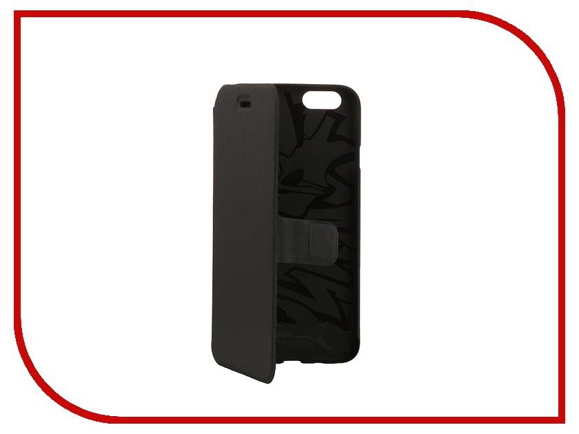 Аксессуар Чехол Itskins Zero Folio для iPhone 6 Black APH6-ZRFLO-BLCK