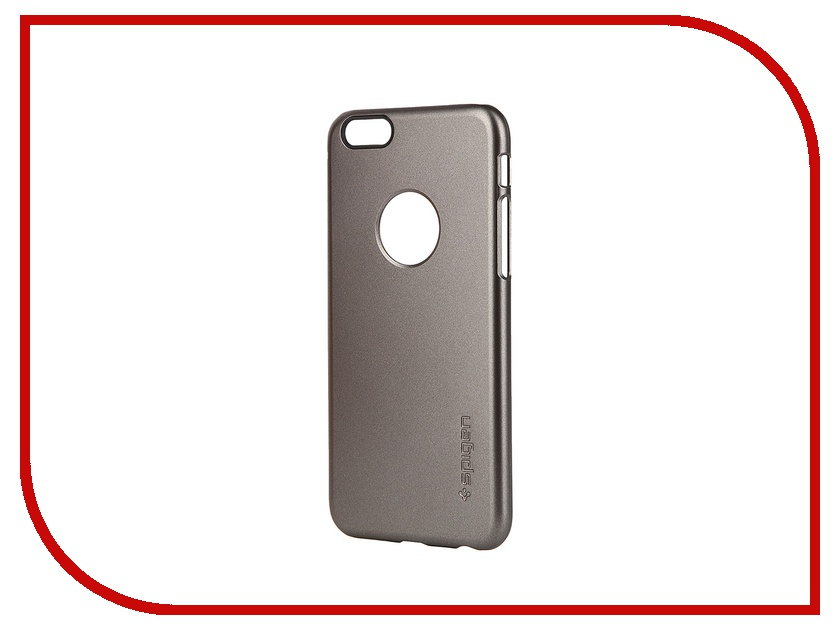 Аксессуар Чехол SGP Thin Fit A Series (PET) для iPhone 6 4.7-inch Gunmetal SGP10944<br>
