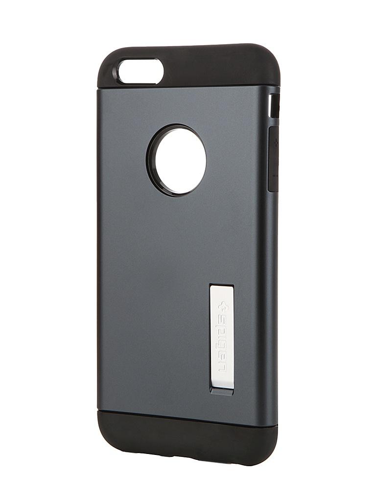 Аксессуар Чехол SGP Slim Armor Series для iPhone 6 Plus 5.5-inch Gunmetal SGP10901<br>