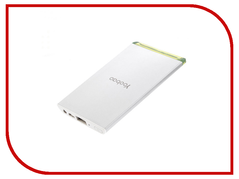 Аккумулятор Yoobao Power Bank Cool-Slim YB-681 3500mAh White
