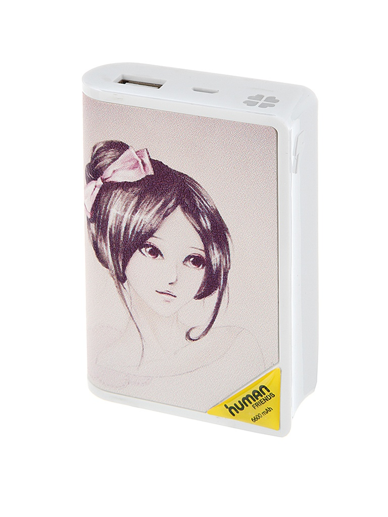 Аккумулятор CBR / Human Friends Power Bank Manga Girl 6600 mAh