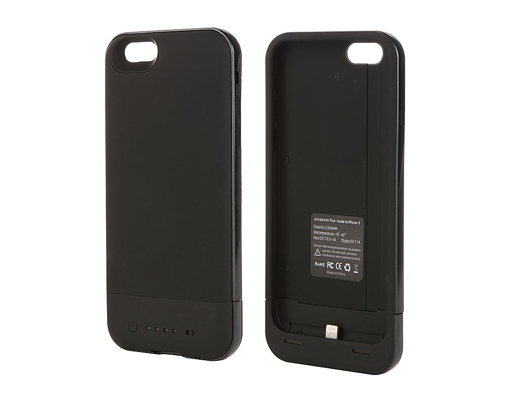 Аксессуар Чехол-аккумулятор Fotololo 3500 mAh для iPhone 6 Black F-064