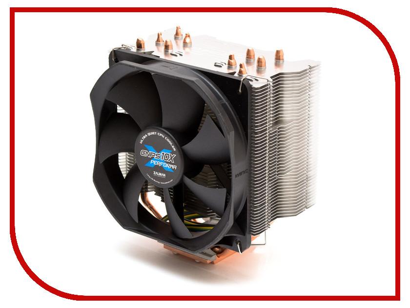 Кулер Zalman CNPS10X Performa+ (S775/S1150/1155/S1156/S1356/S1366/S2011/AM2/AM2+/AM3/AM3+/FM1/FM2/FM2+) кулер для процессора zalman cnps9900 max blue socket s775 s1356 s1366 s1150 1155 s1156 am2 am2 am3 am3 fm1