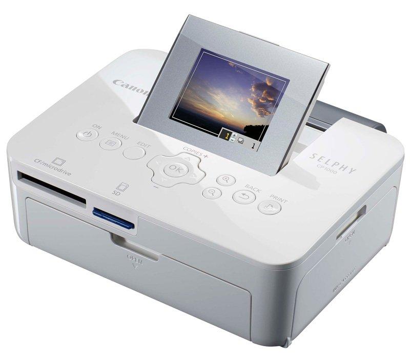 Принтер Canon Selphy CP1000 White цена и фото