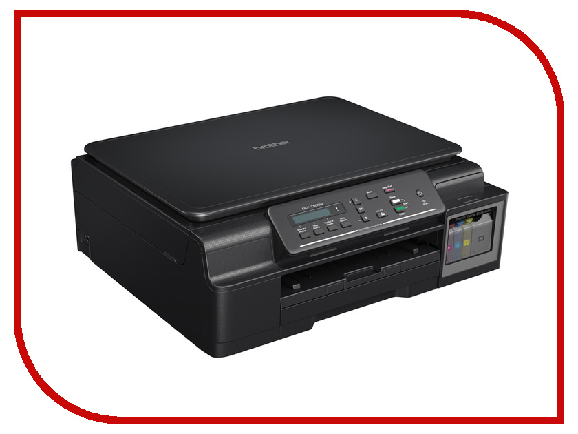 brother dcp 9020cdw отзывы МФУ Brother DCP-T500W InkBenefit Plus