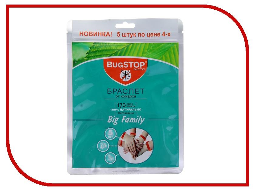 Средство защиты от комаров BugSTOP BIG FAMILY 279659<br>